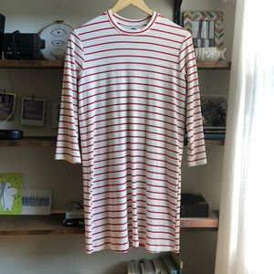Striped Reformation dress size small